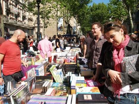 Els llibres i els llibreters, protagonistes a Sant Jordi 2009.